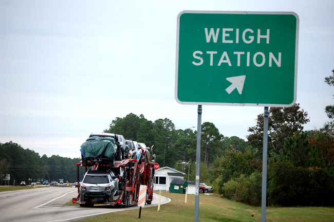 truck weigh station
