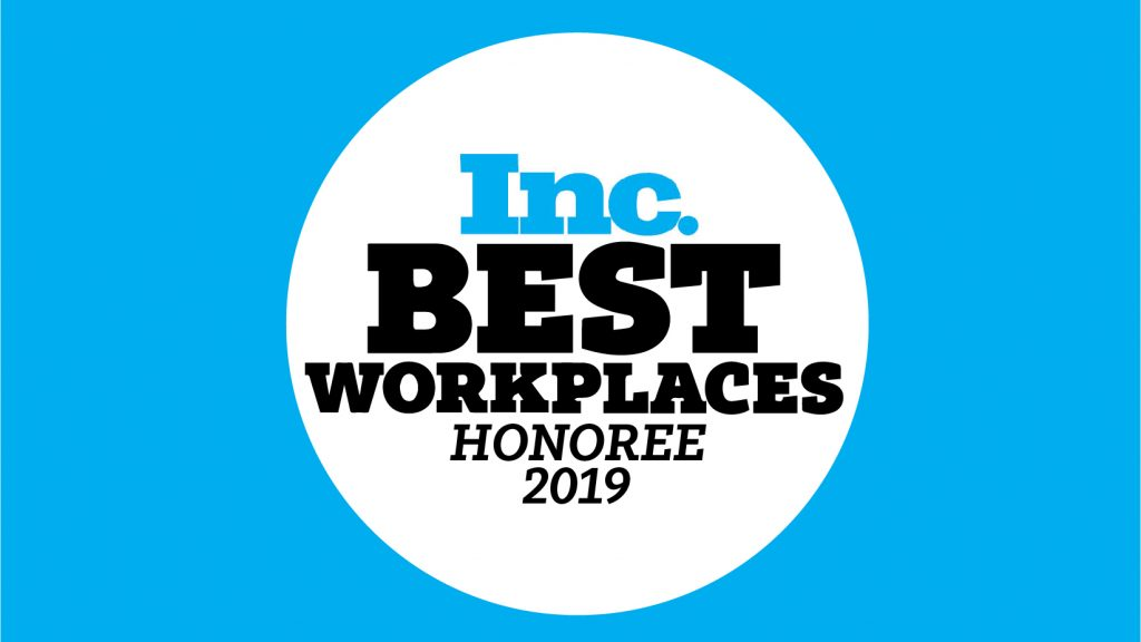 Inc best Workplaces 2019 Logo